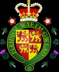 Гербът на Уелс